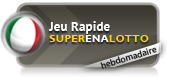 SuperEnaLotto hebdomadaire